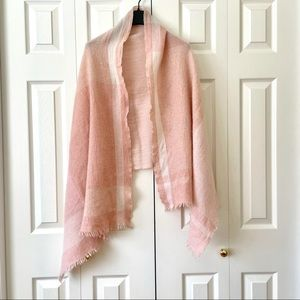 Chloe Pink Scarf/Wraps